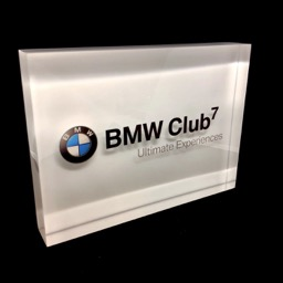 Plexi display BMW
