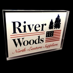 Plexi display River Woods