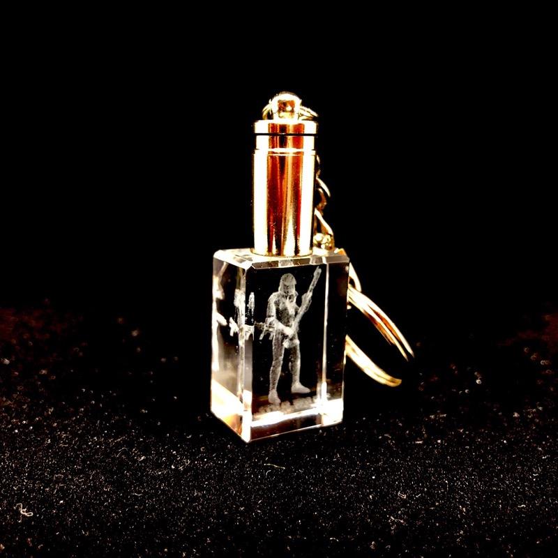 Sleutelhanger kristal 3D
