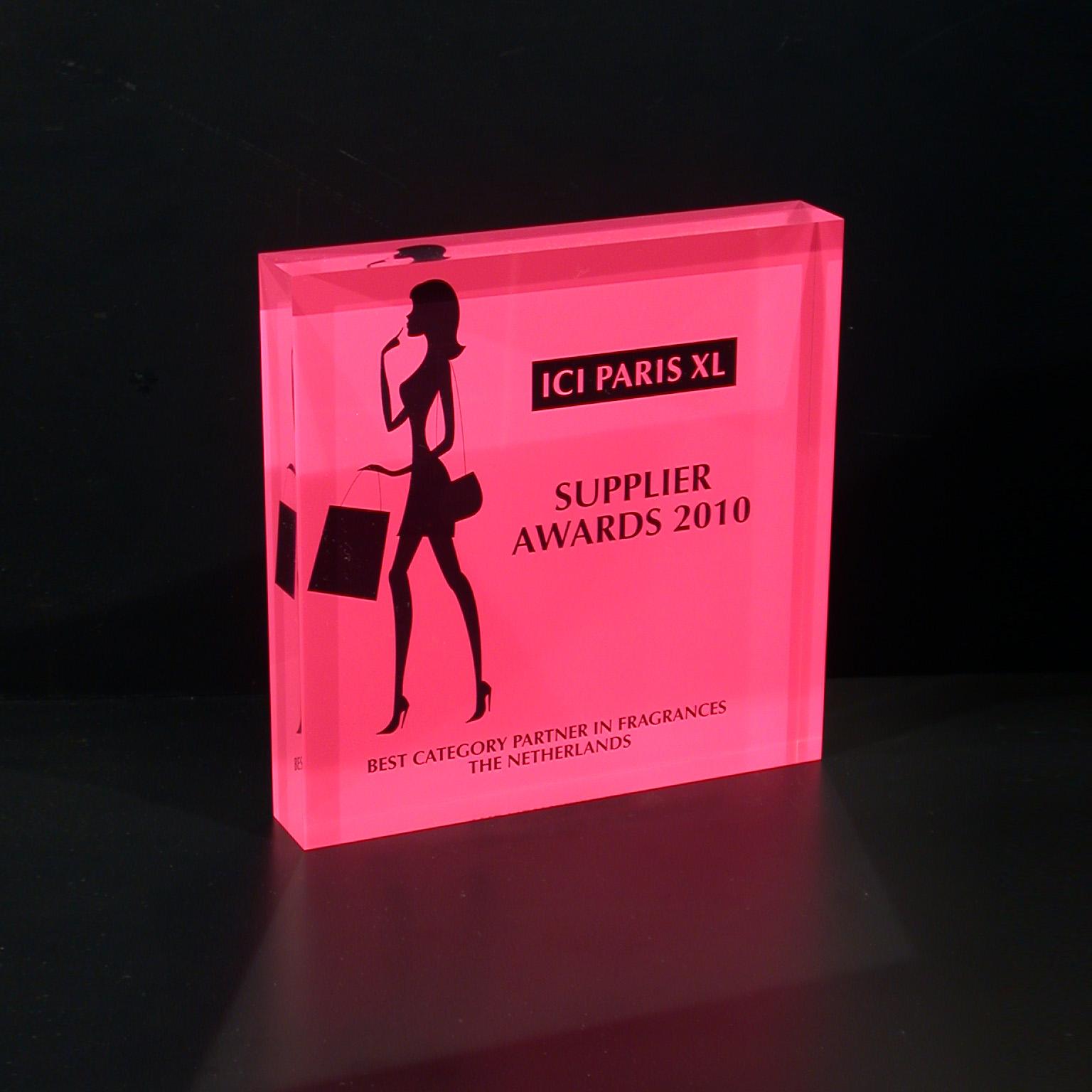 Award plexi