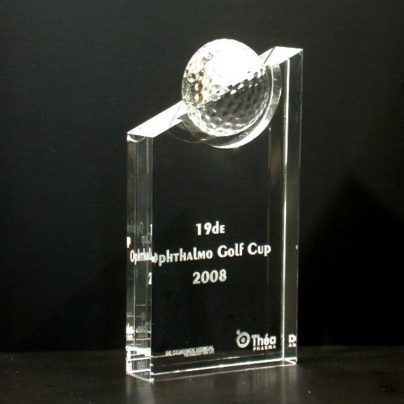 Award en cristal