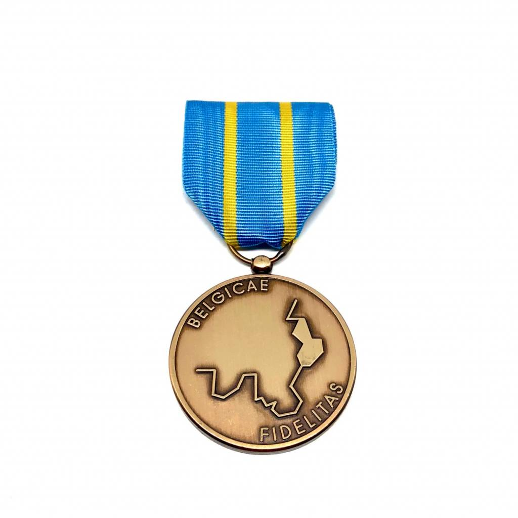 Medal for Resistance to Nazism - yellow