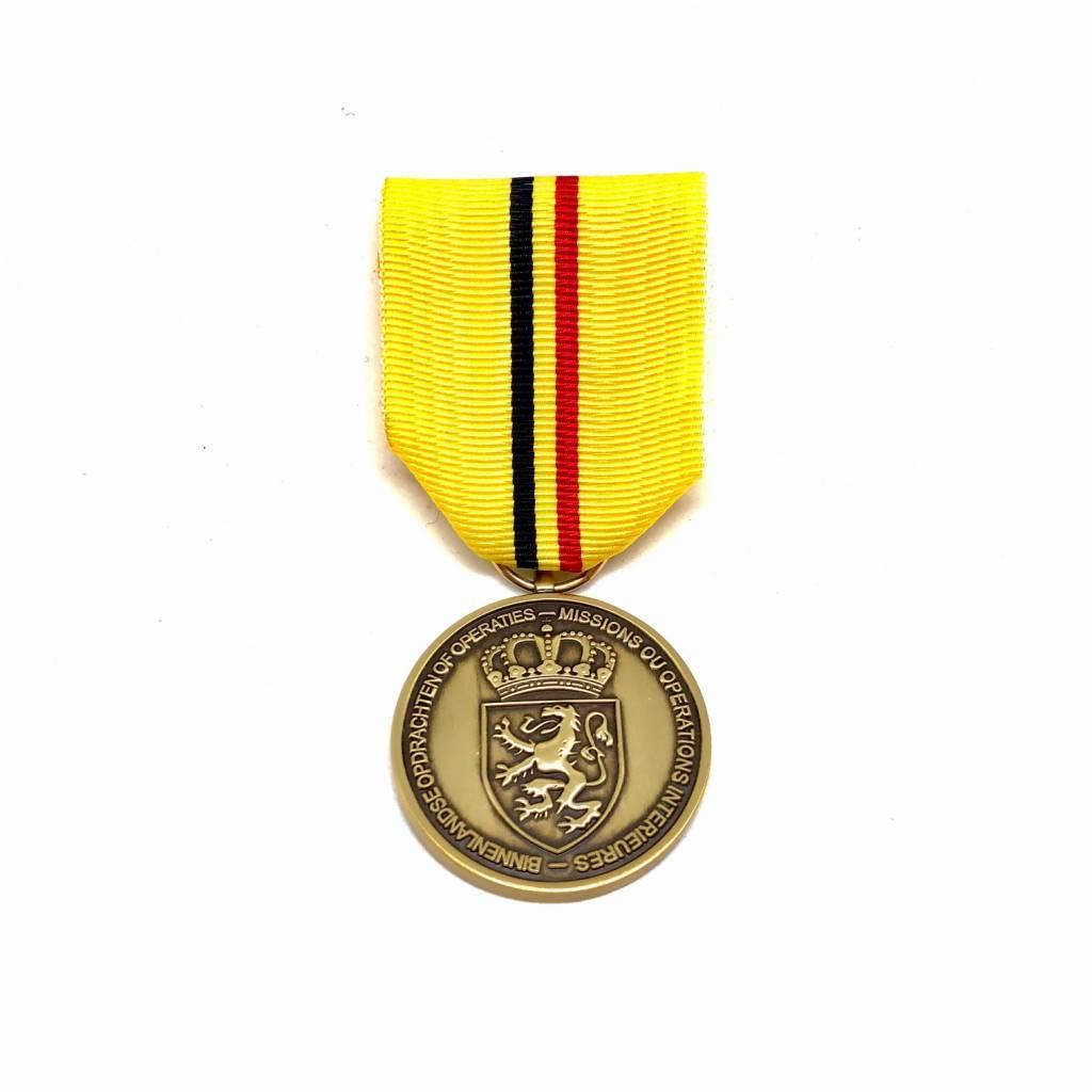 Nouvelle médaille Missions ou Opérations Intérieures