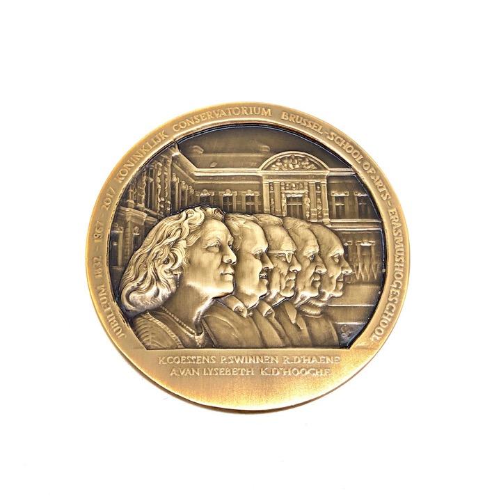 Medaille Conservatorium Brussel