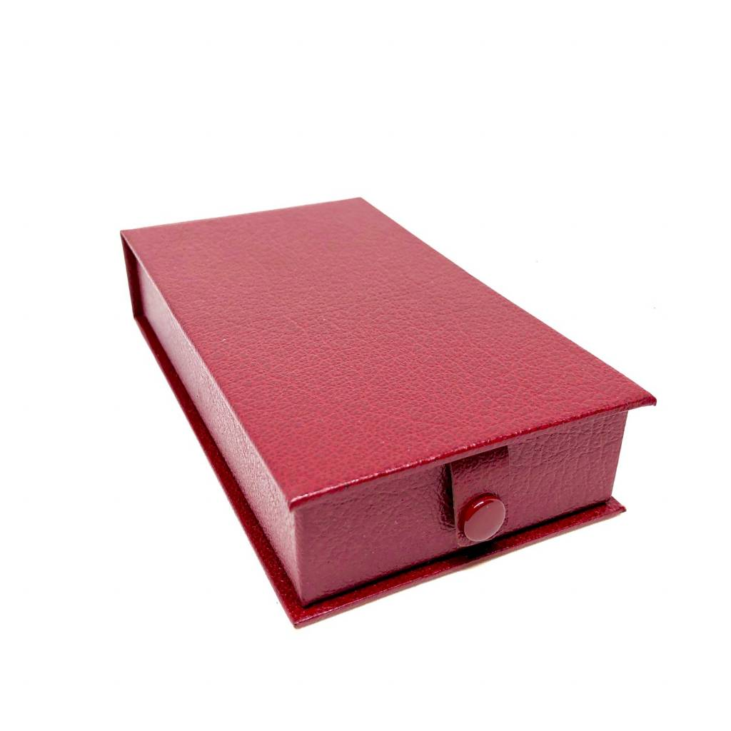 Luxury box for medals of honor in simili - maroon