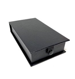 Luxury box for medals in simili - black