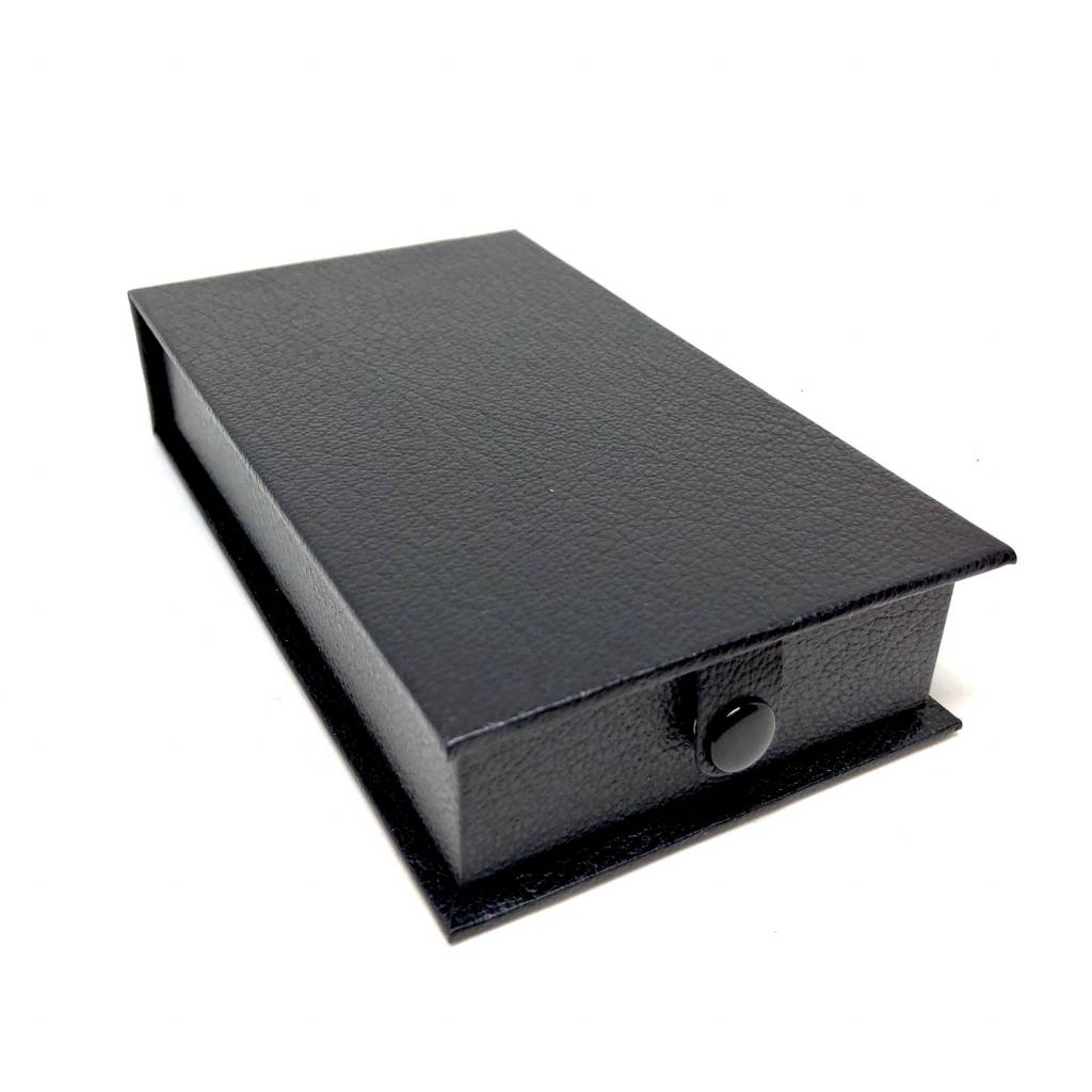 Luxury box for medals of honor in simili - black