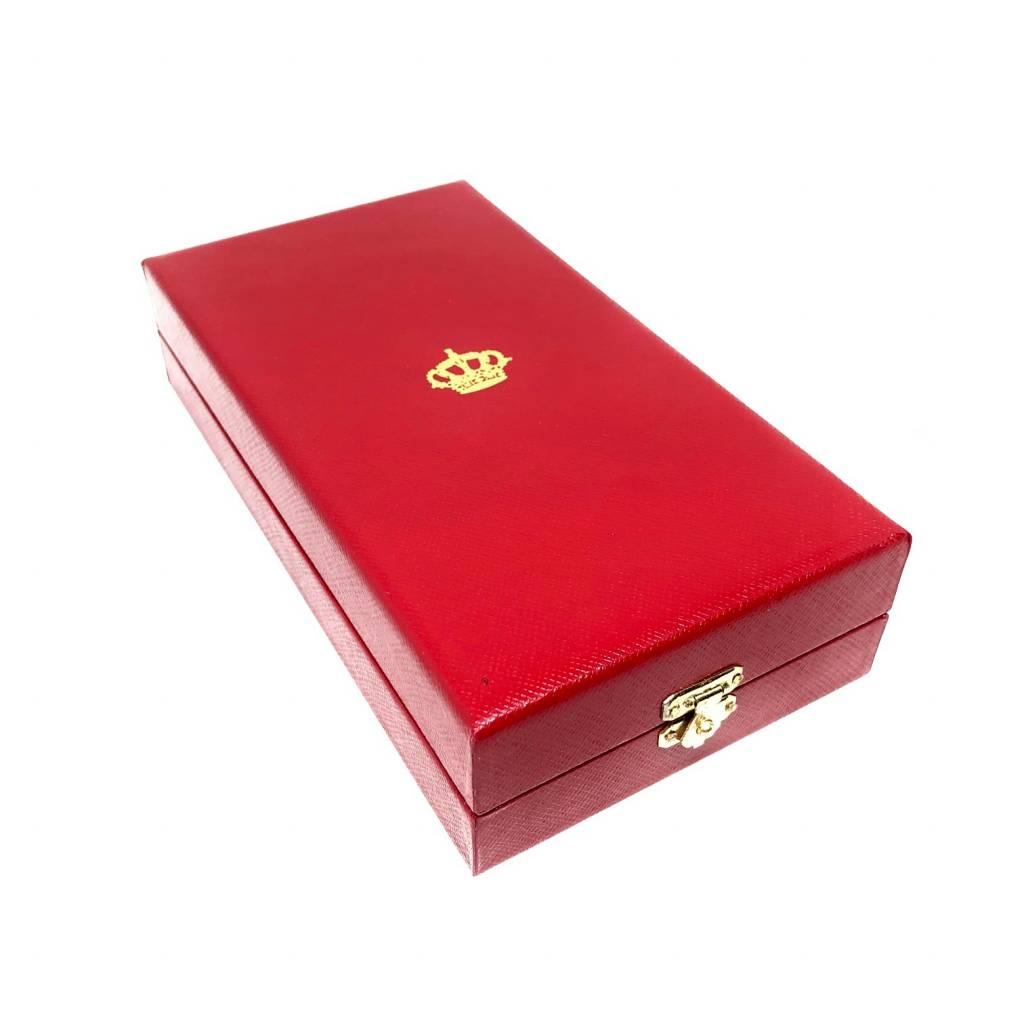 Écrin pour Commandeur de l'Ordre de la Couronne