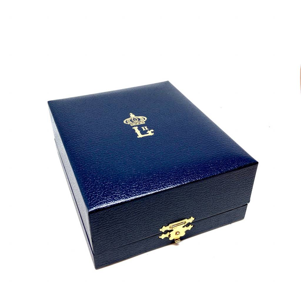 Écrin pour Grand Officier de l'Ordre de Léopold II