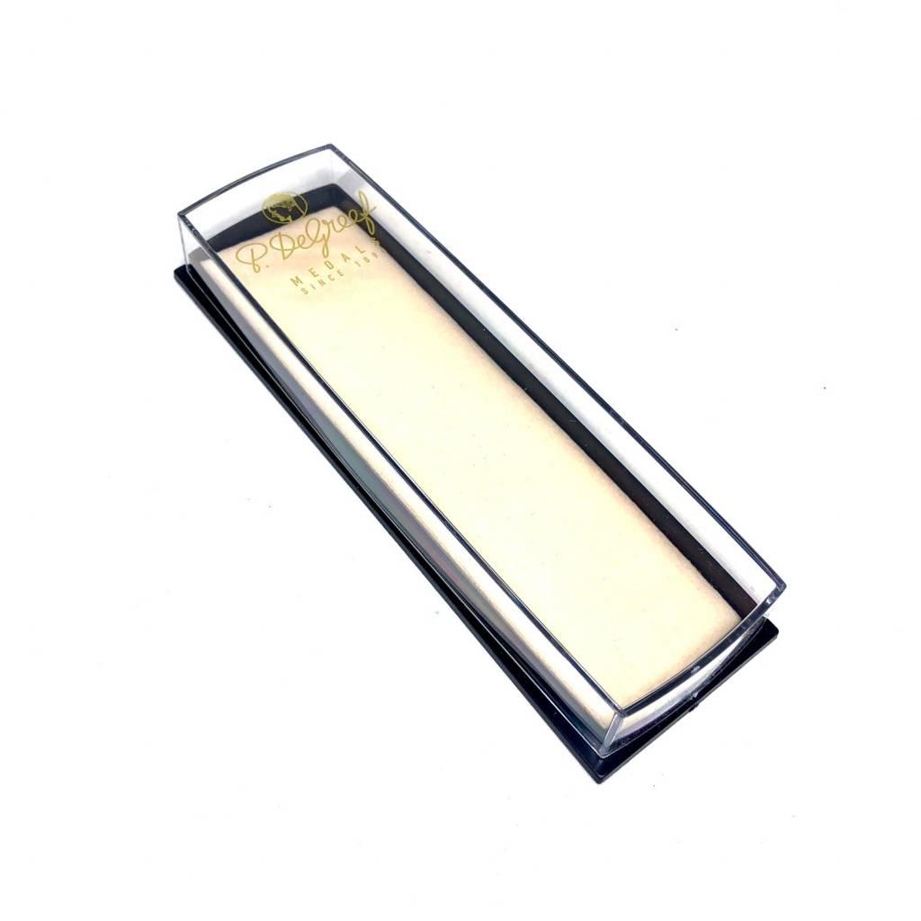 Écrin transparant en plastique pour diminutif