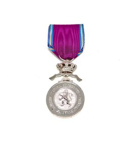 Zilveren Medaille in de Koninklijke Orde van de Leeuw