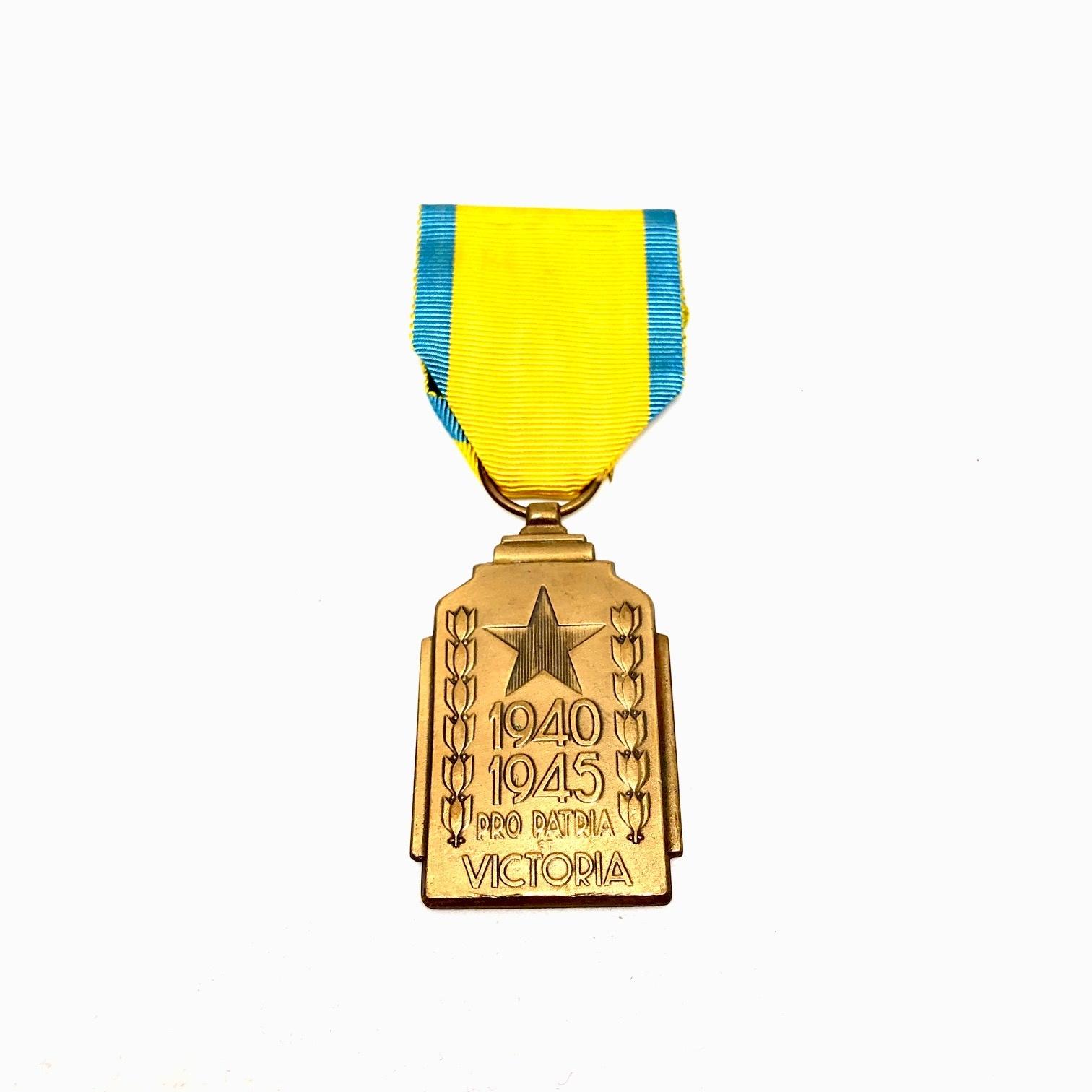 Colonial War Effort Medal 1940-1945