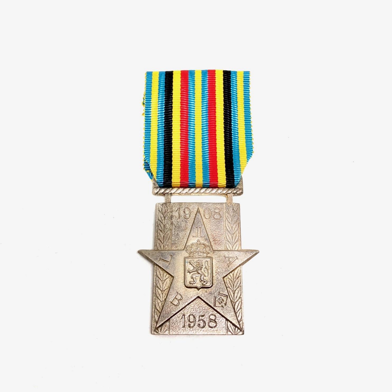 Medaille van de Vijftigste Verjaardag van Belgisch Congo
