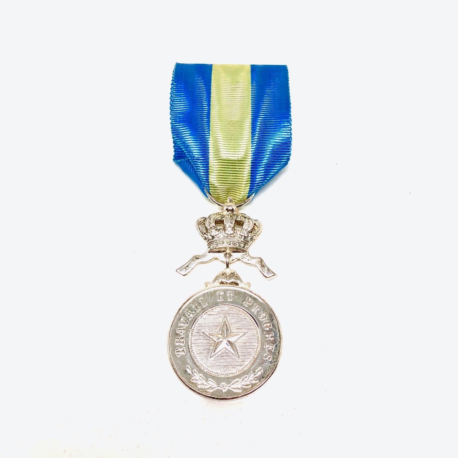 Zilveren Medaille in de Orde van de Afrikaanse Ster