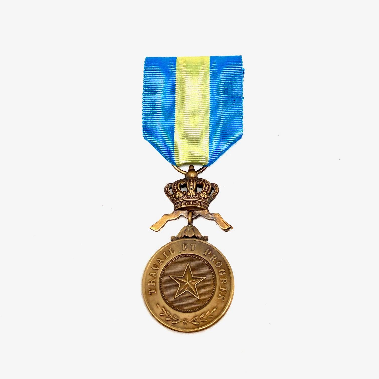 Bronzen Medaille in de Orde van de Afrikaanse Ster