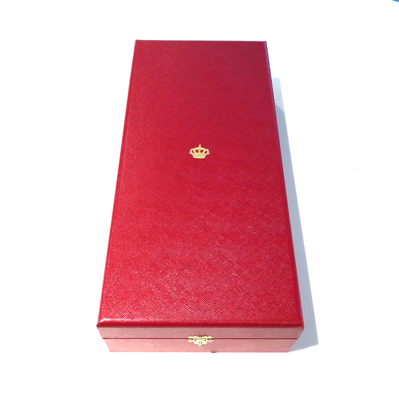 Luxury box for Grand Cross in the Order of the Crown