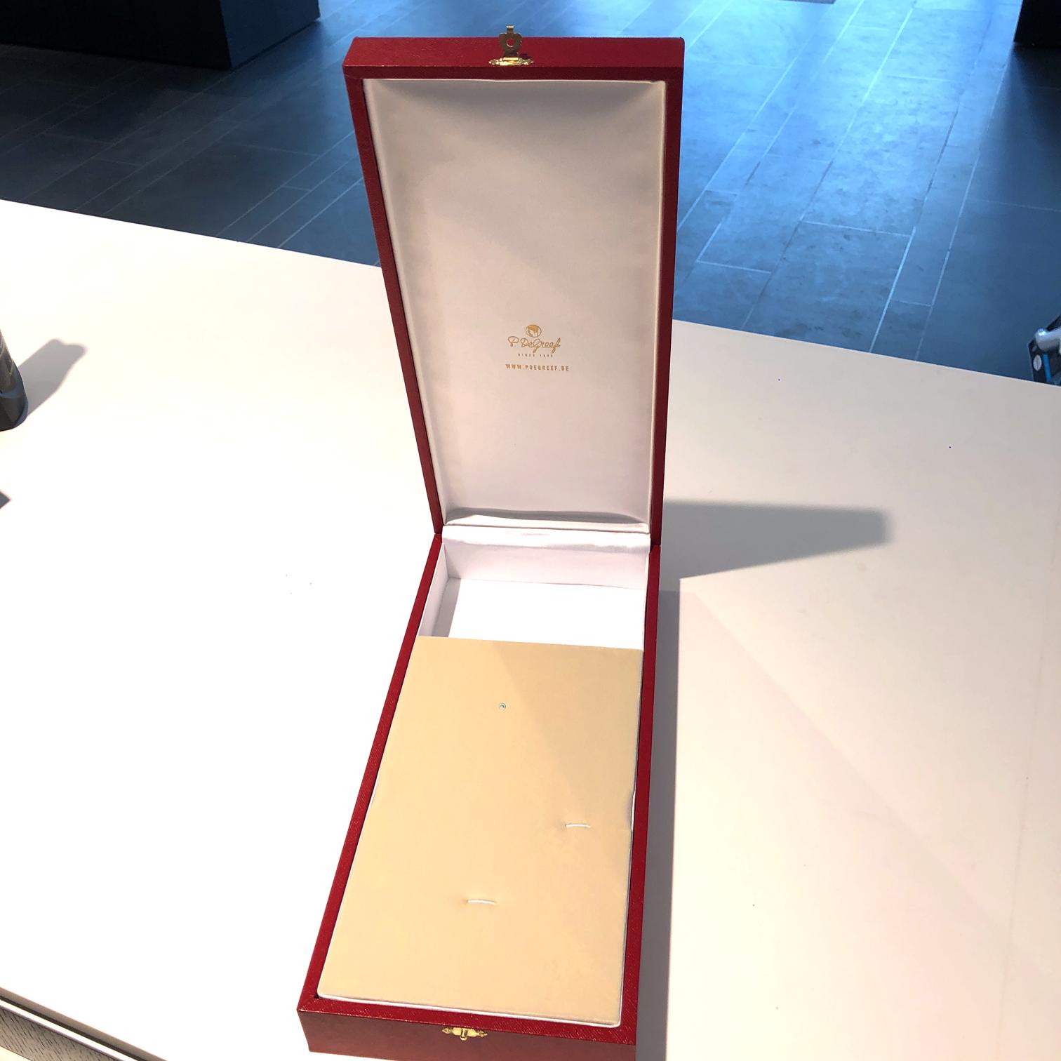 Écrin pour Grand-Croix de l'Ordre de la Couronne