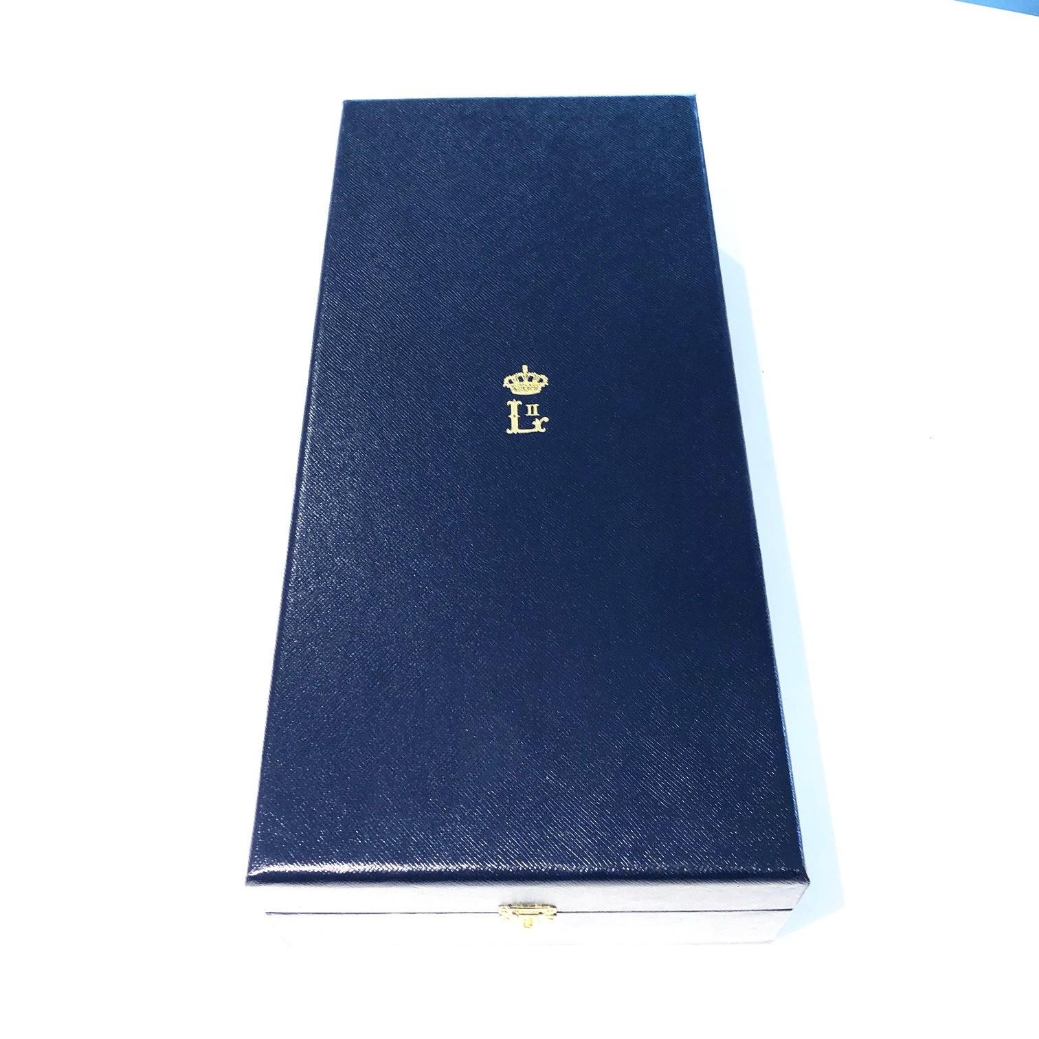 Luxeschrijn voor Grootkruis in de orde van Leopold II