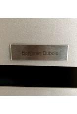 Naamplaatje in RVS voor brievenbus, bel of lift