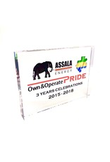 Plexi award - tombstone (150 x 150 x 24 mm)