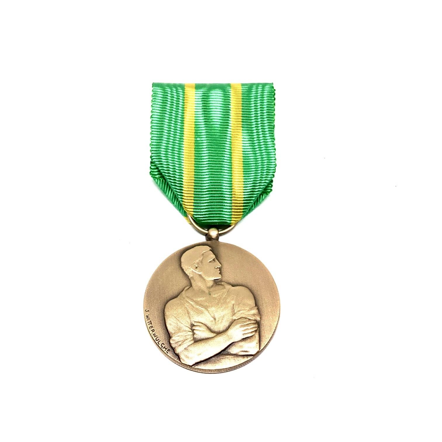 Medaille voor Werkweigeraars