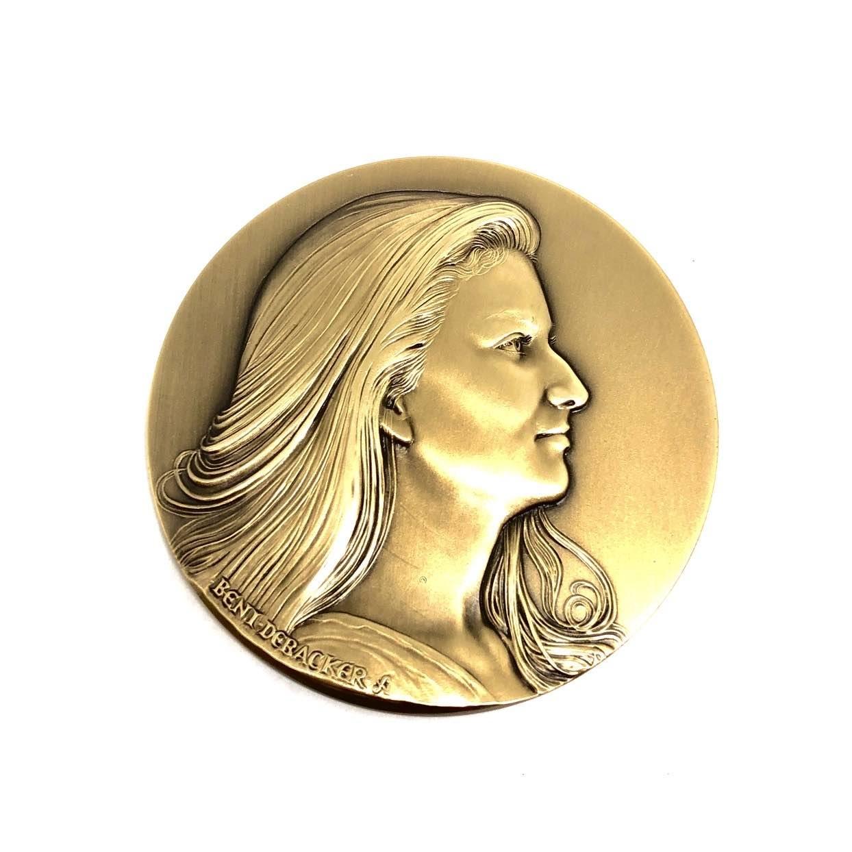 Medaille brons prinses Elisabeth