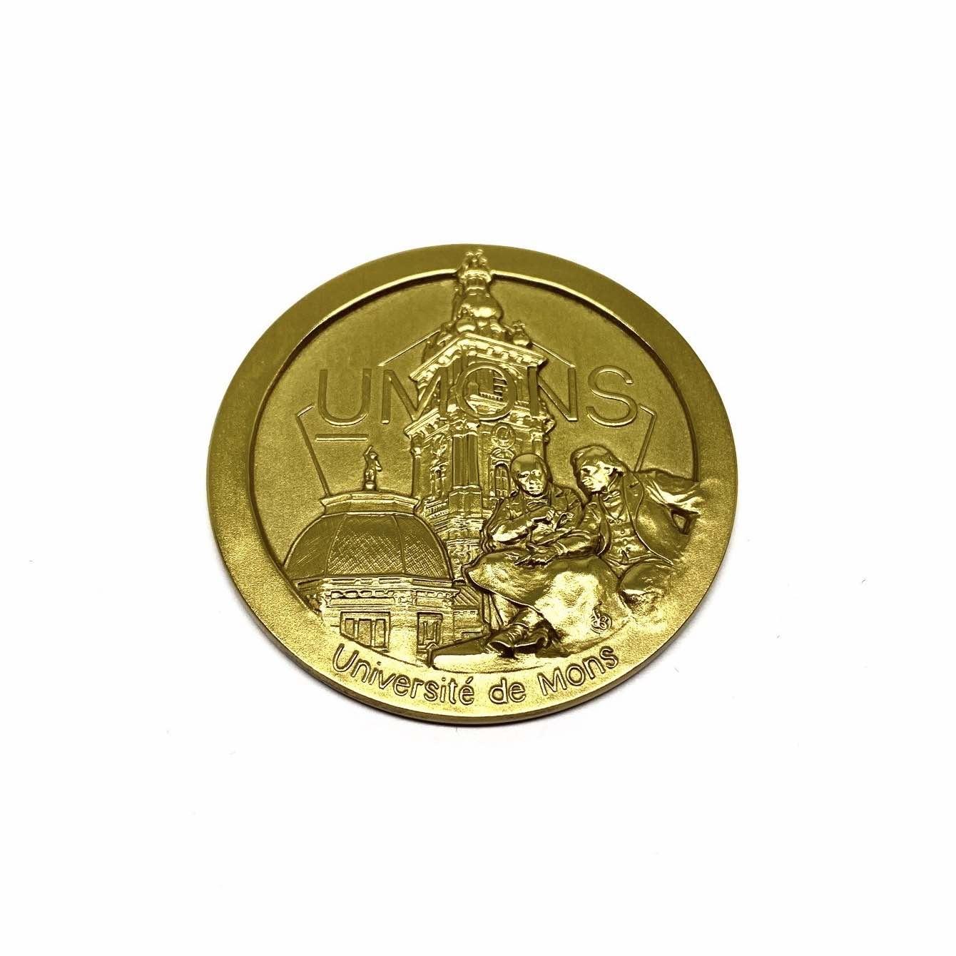 Medaille Universiteit Mons