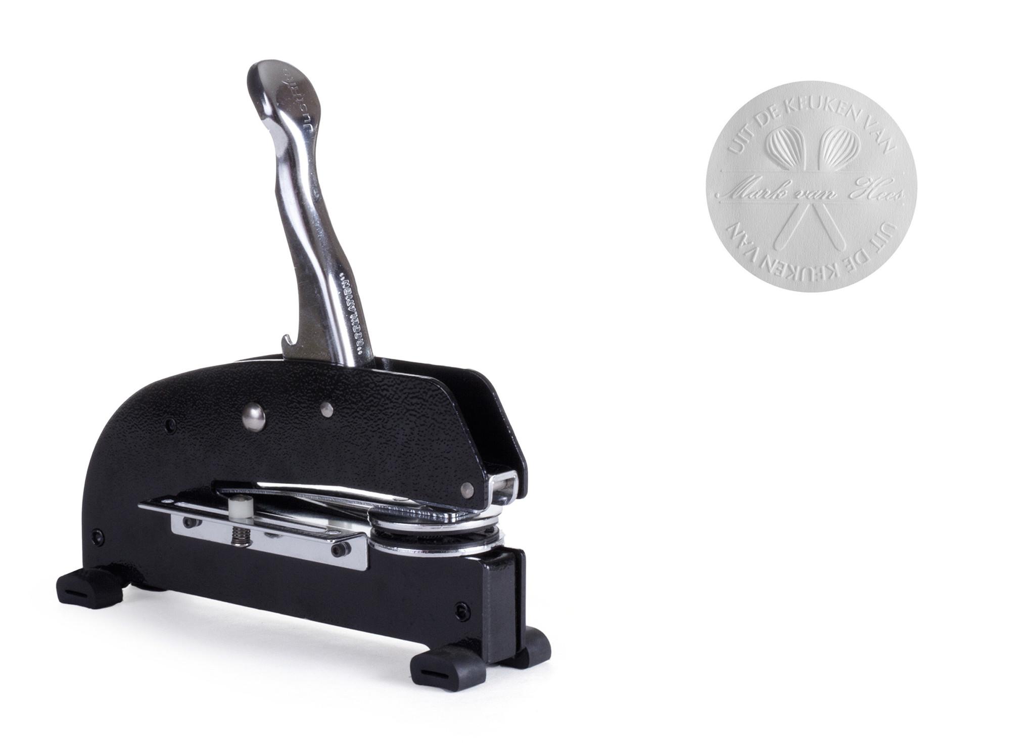 Blind stamp with big range