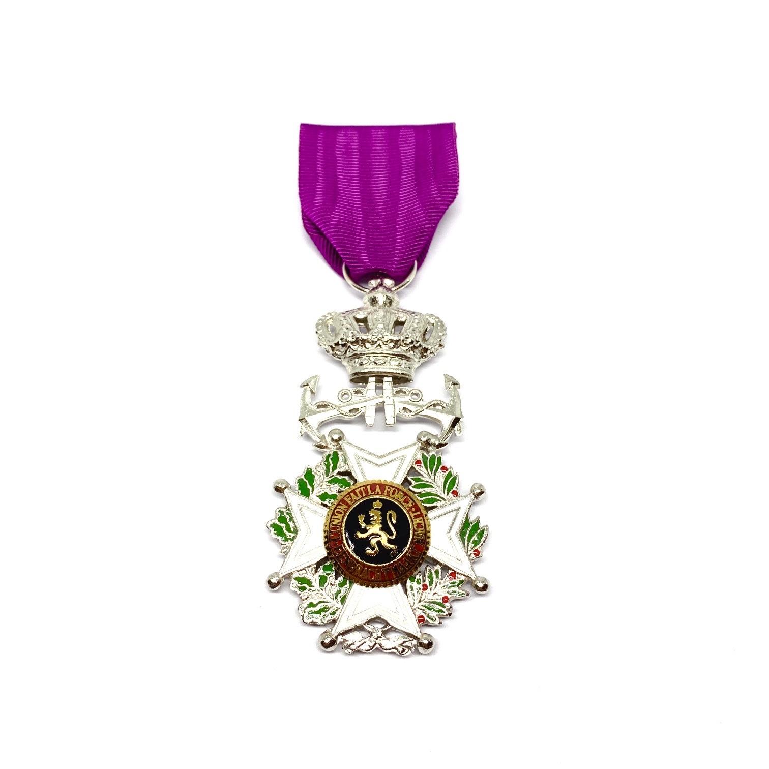 Ridder in de Orde van Leopold Maritiem