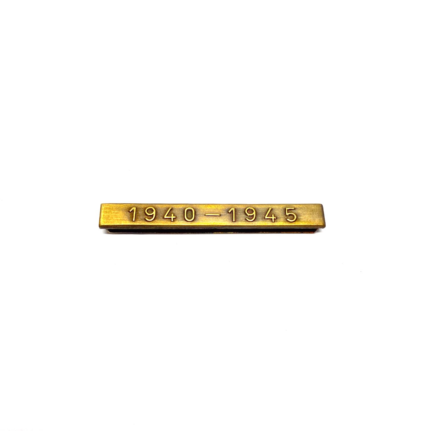 Bar 1940-1945 for war medals