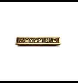 Barrette Abyssinie