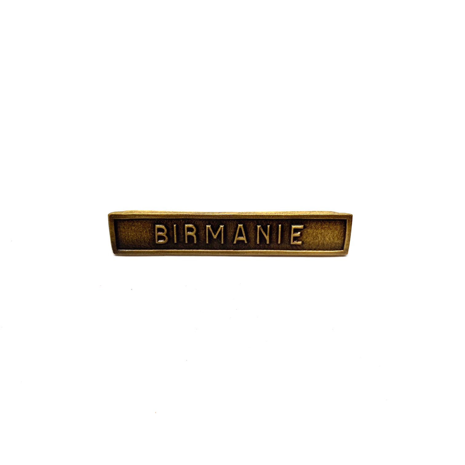 Bar Birmanie for war medals