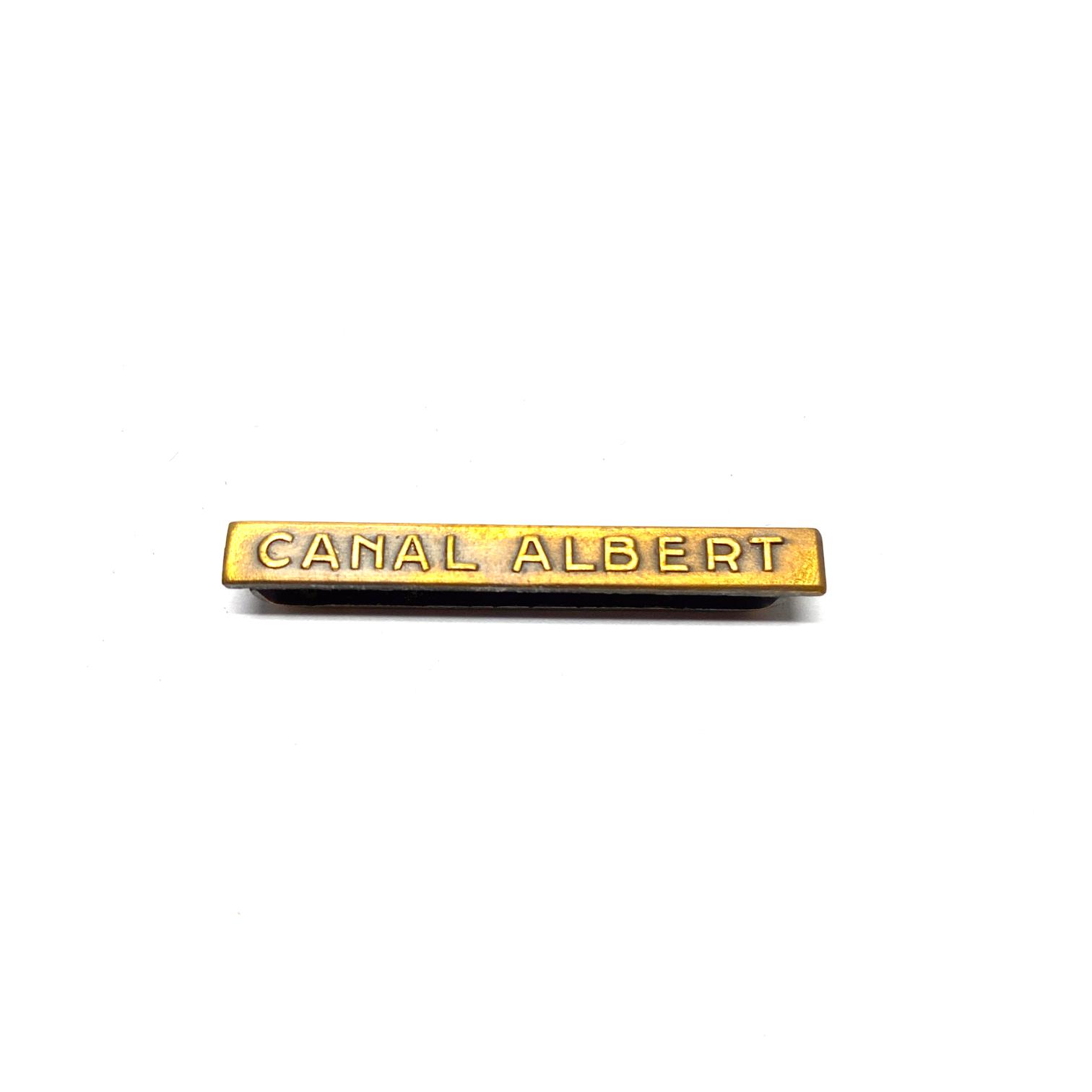 Bar Canal Albert for war medals