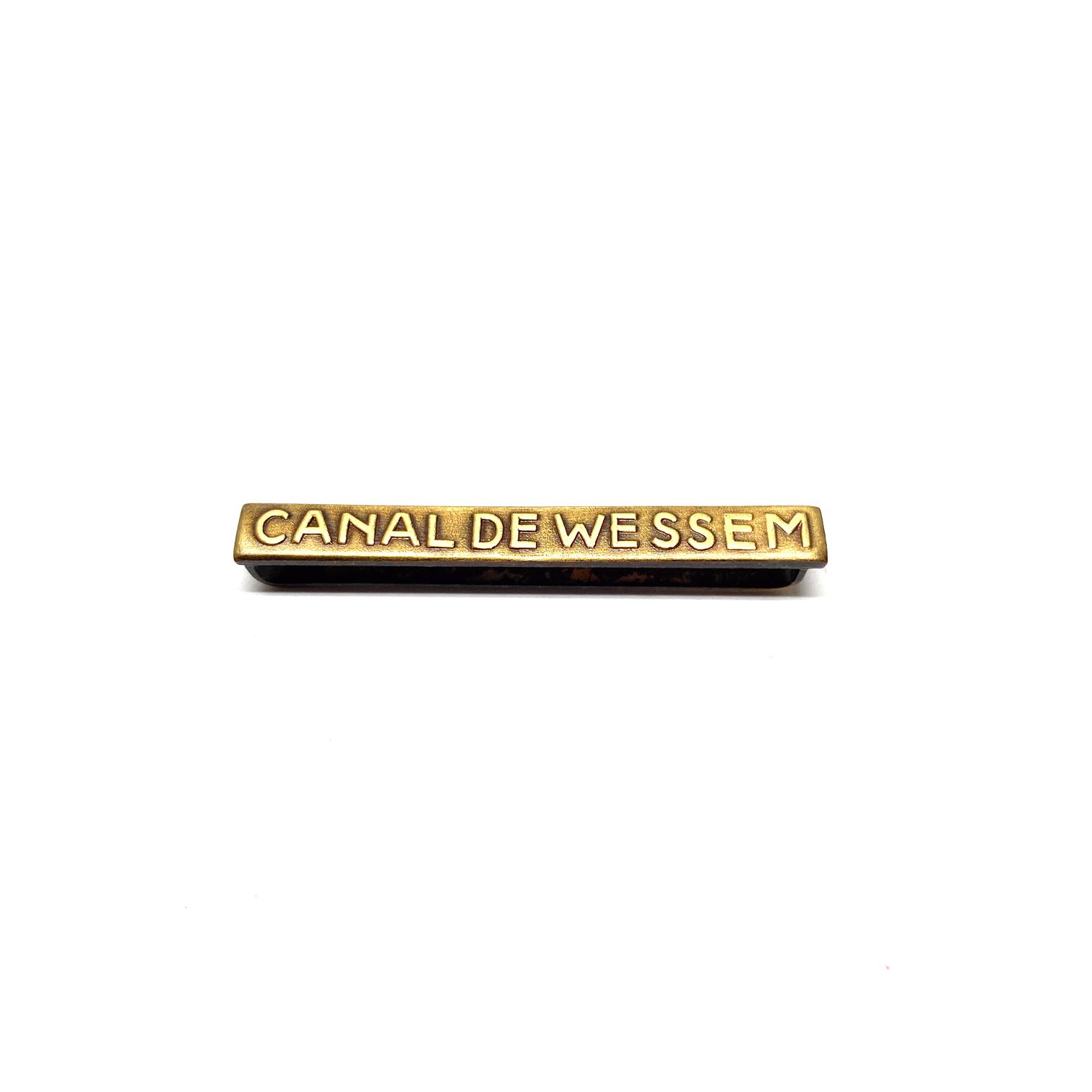 Bar Canal de Wessem for war medals