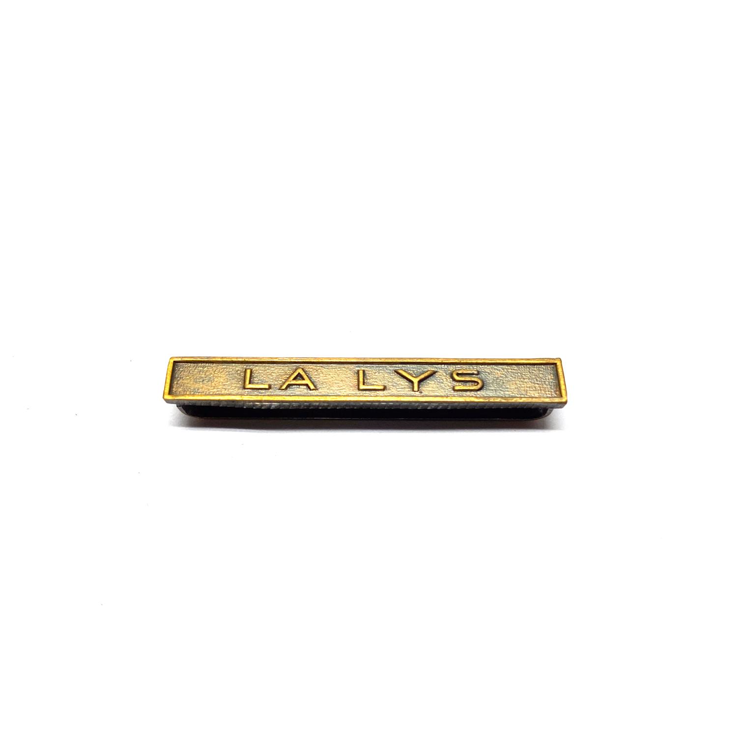 Bar La Lys for war medals