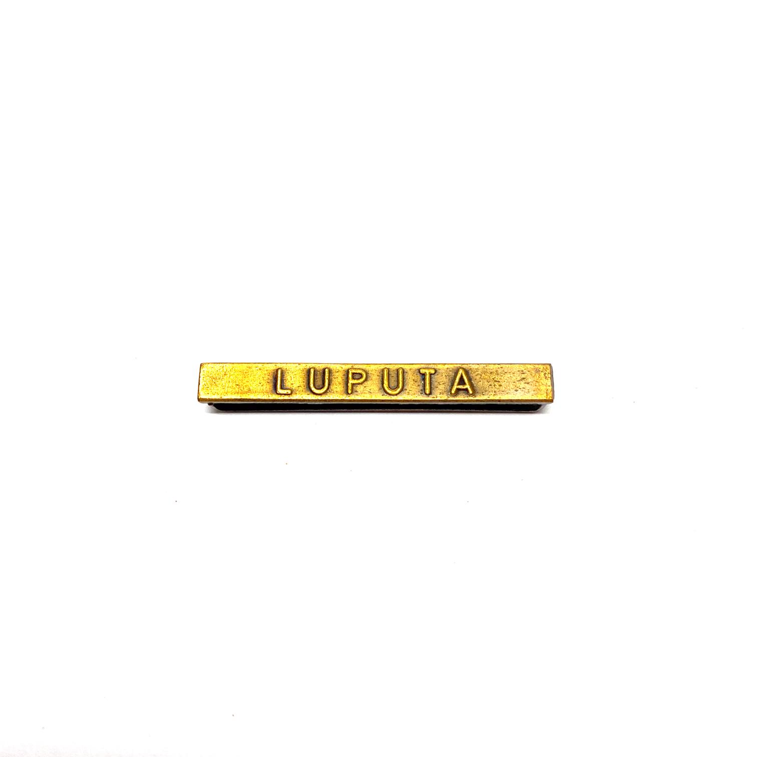 Barrette Luputa pour décorations de guerre