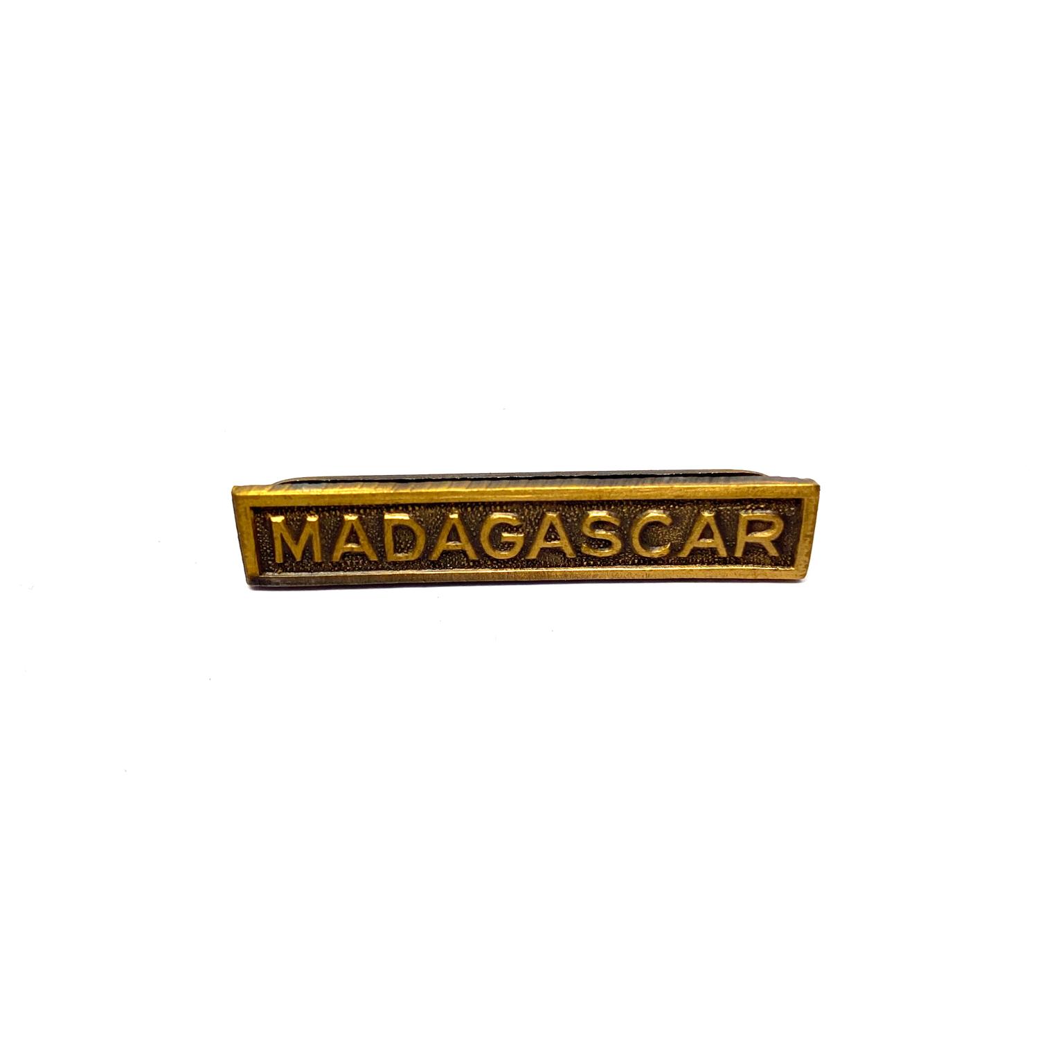 Barrette Madagascar pour décorations de guerre