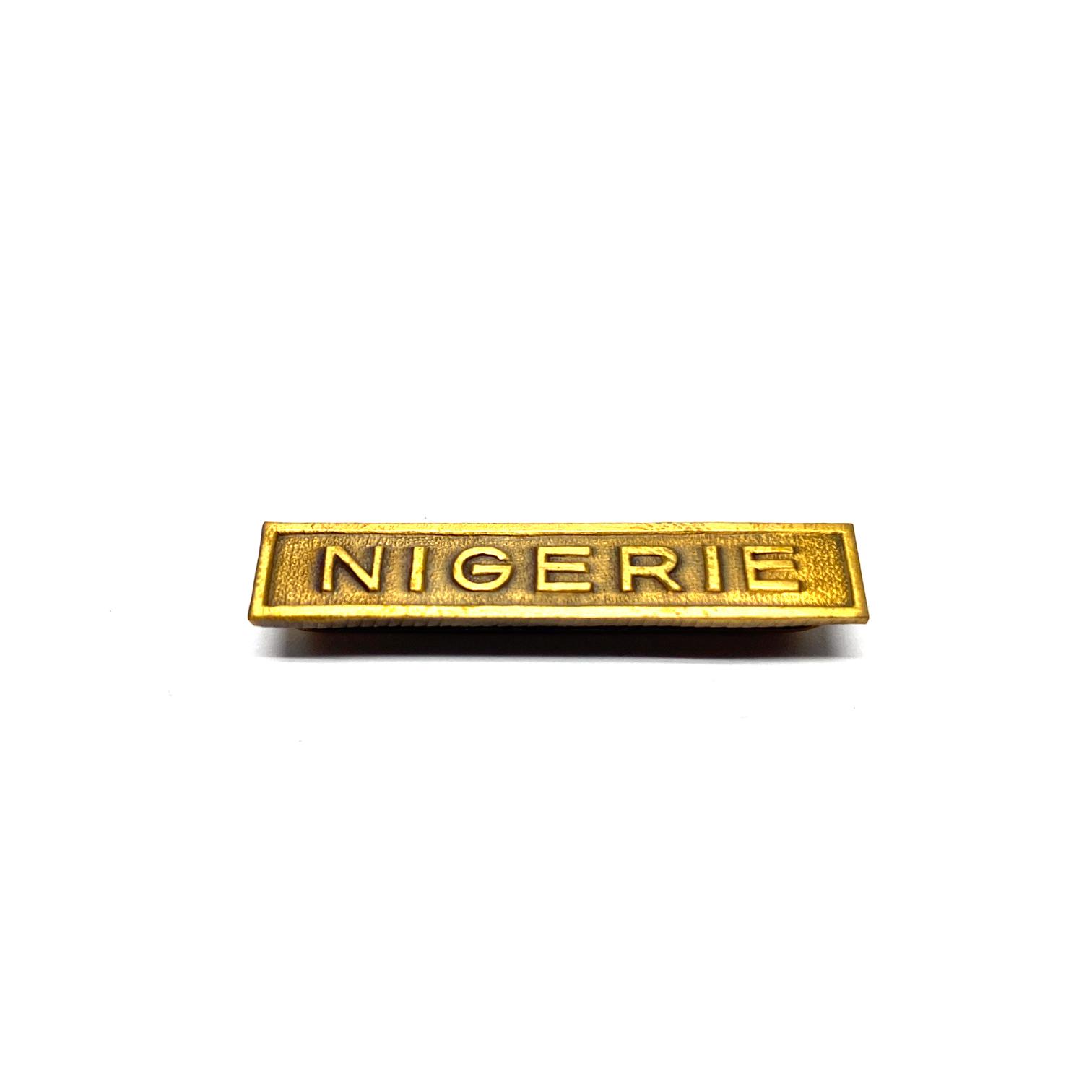 Baret Nigerie voor oorlogseretekens