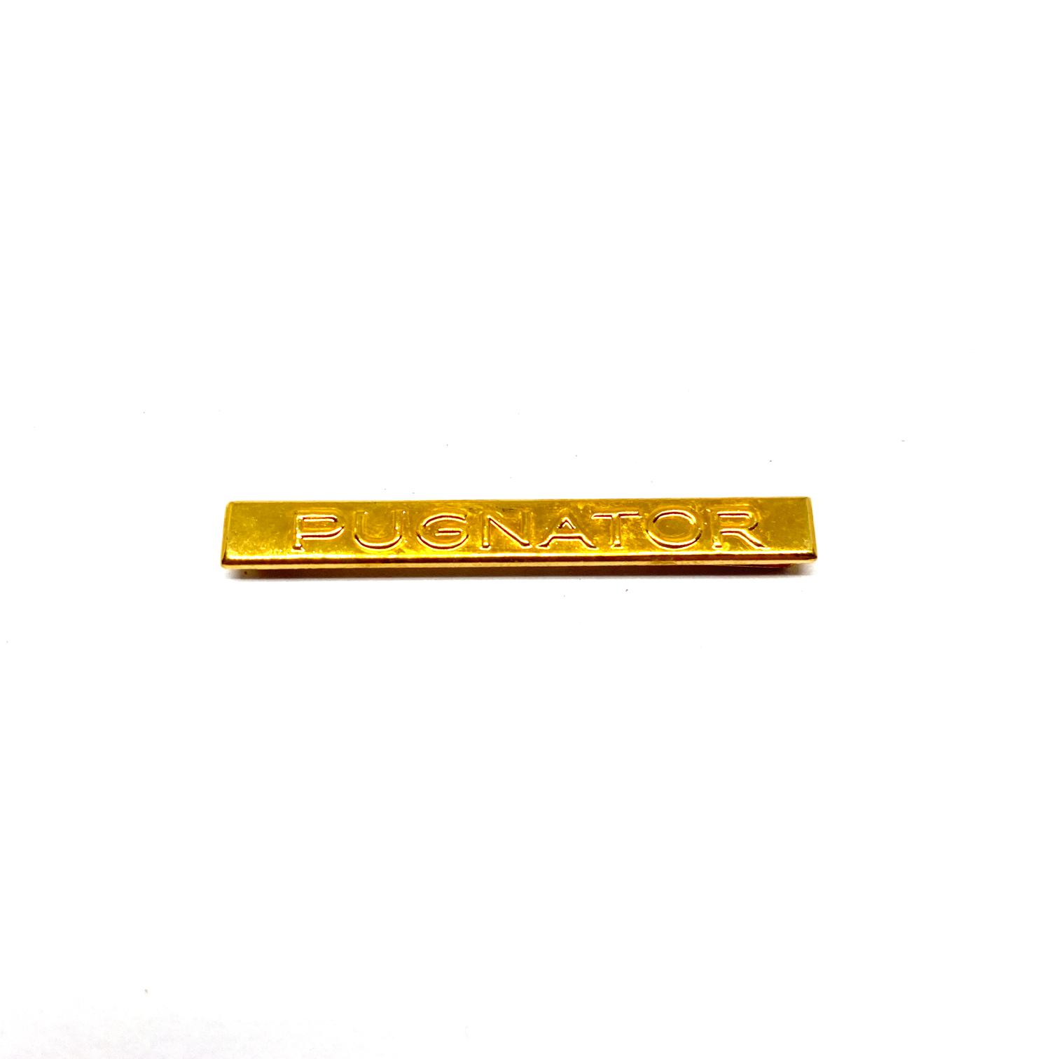Bar Pugnator for war medals