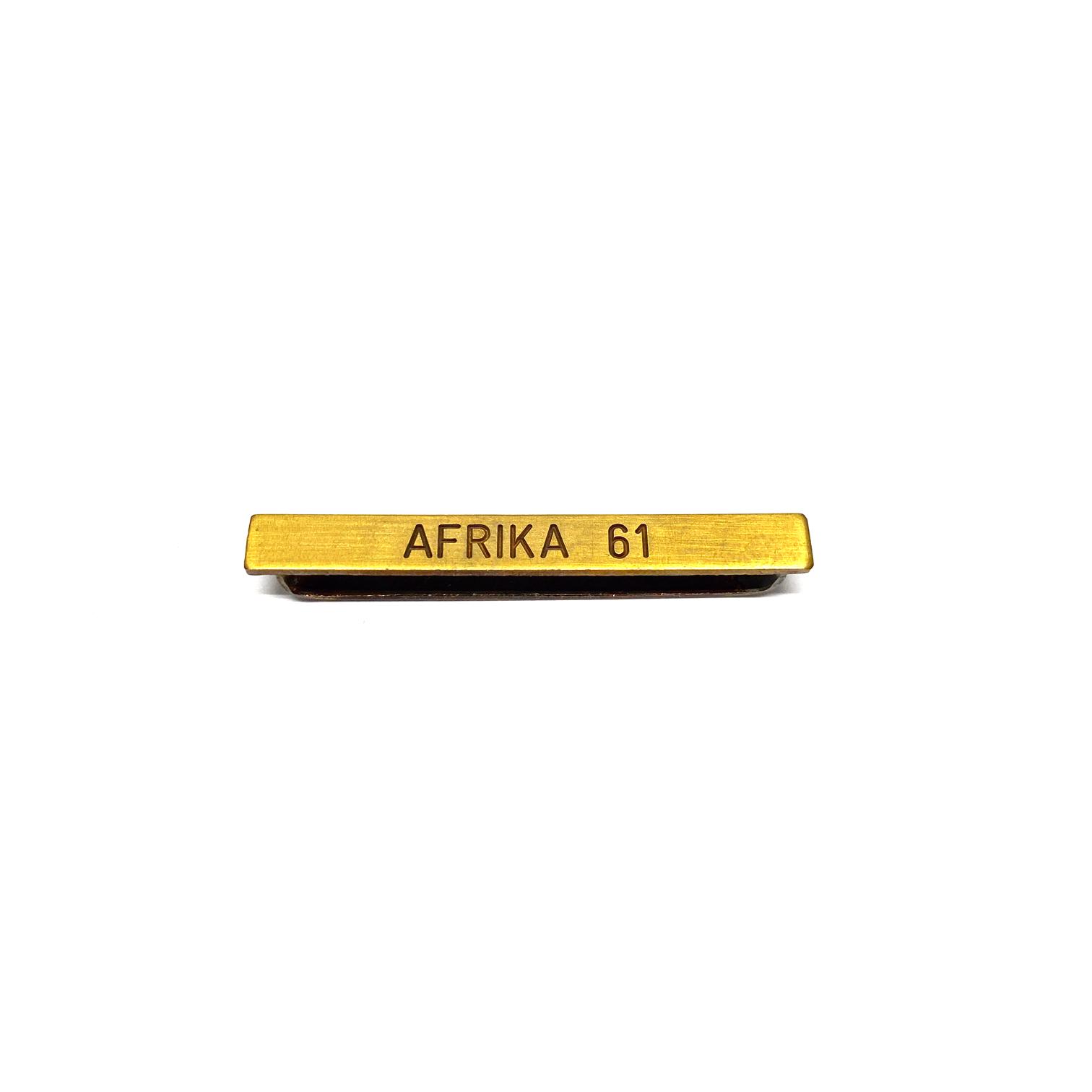 Barrette Afrika 61 pour décorations militaires
