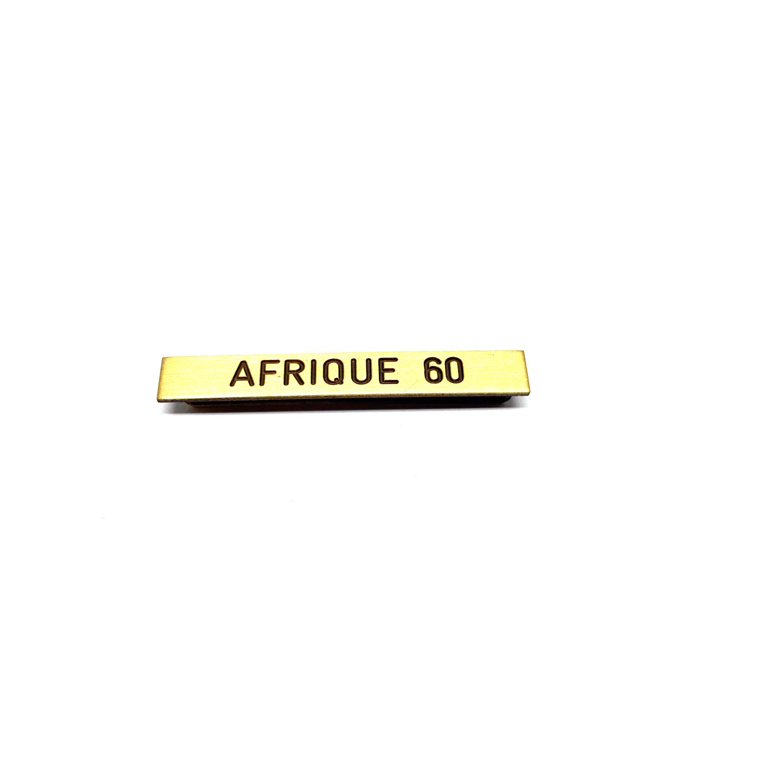 Baret Afrique 60 voor militaire eretekens
