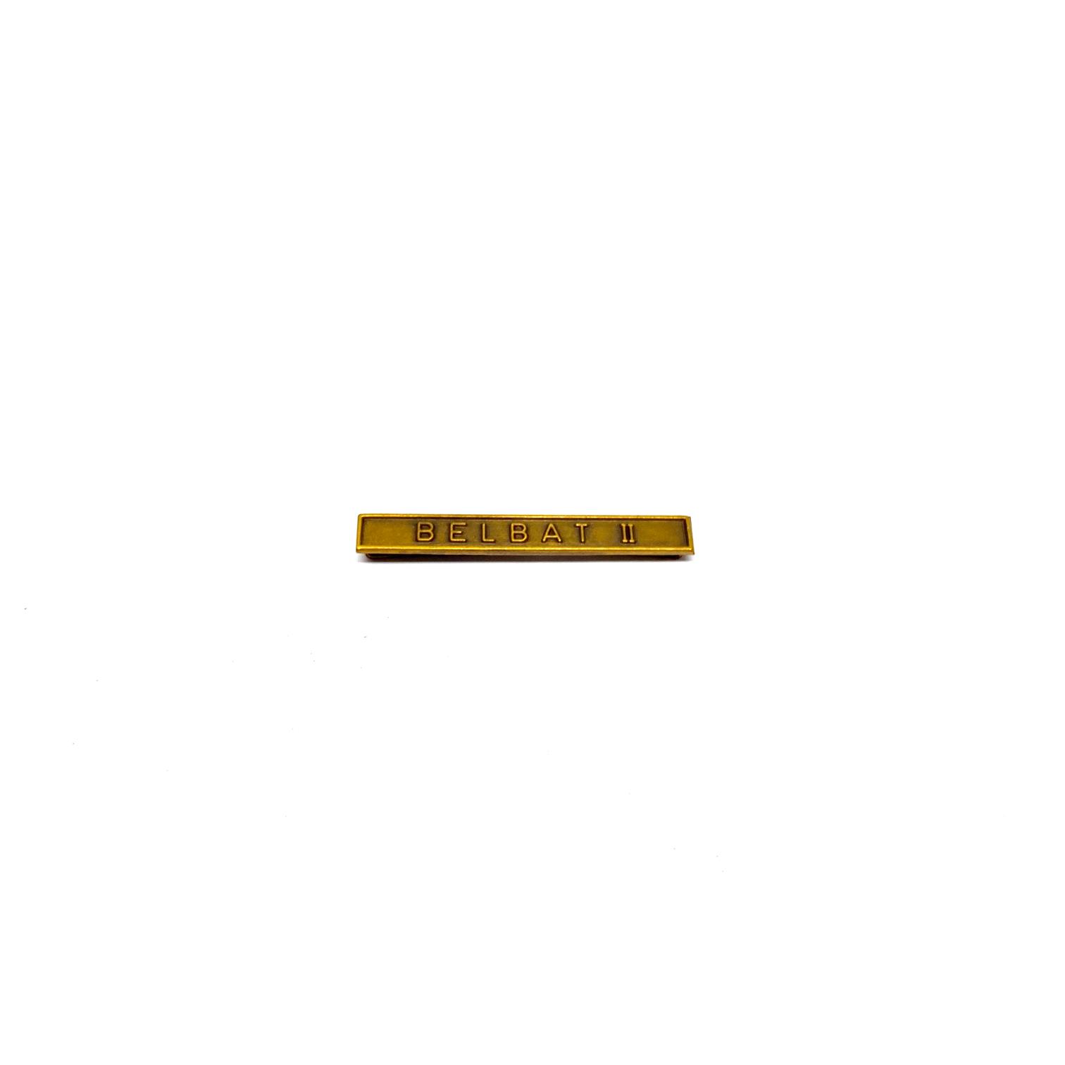 Barrette Belbat II pour décorations militaires