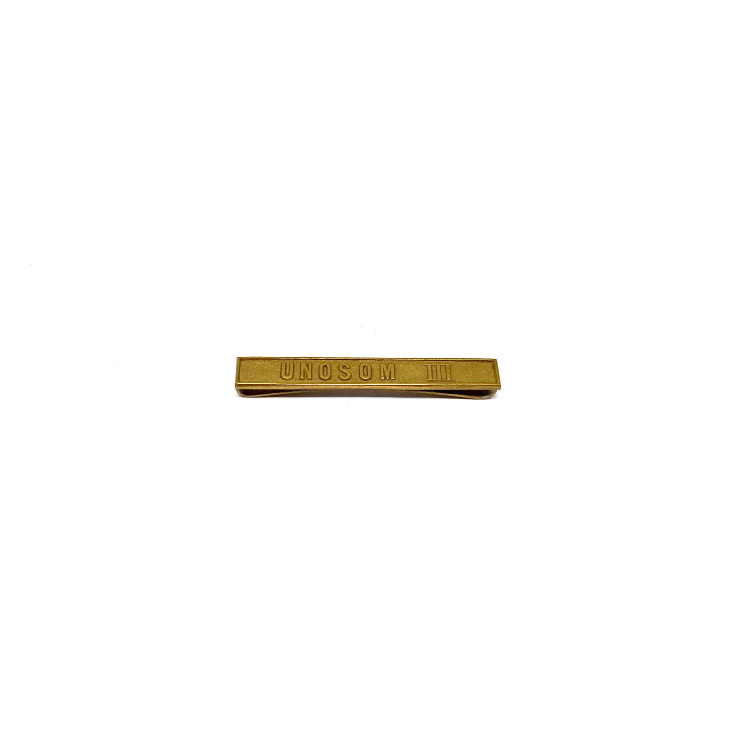 Barrette Unosom III pour décorations militaires