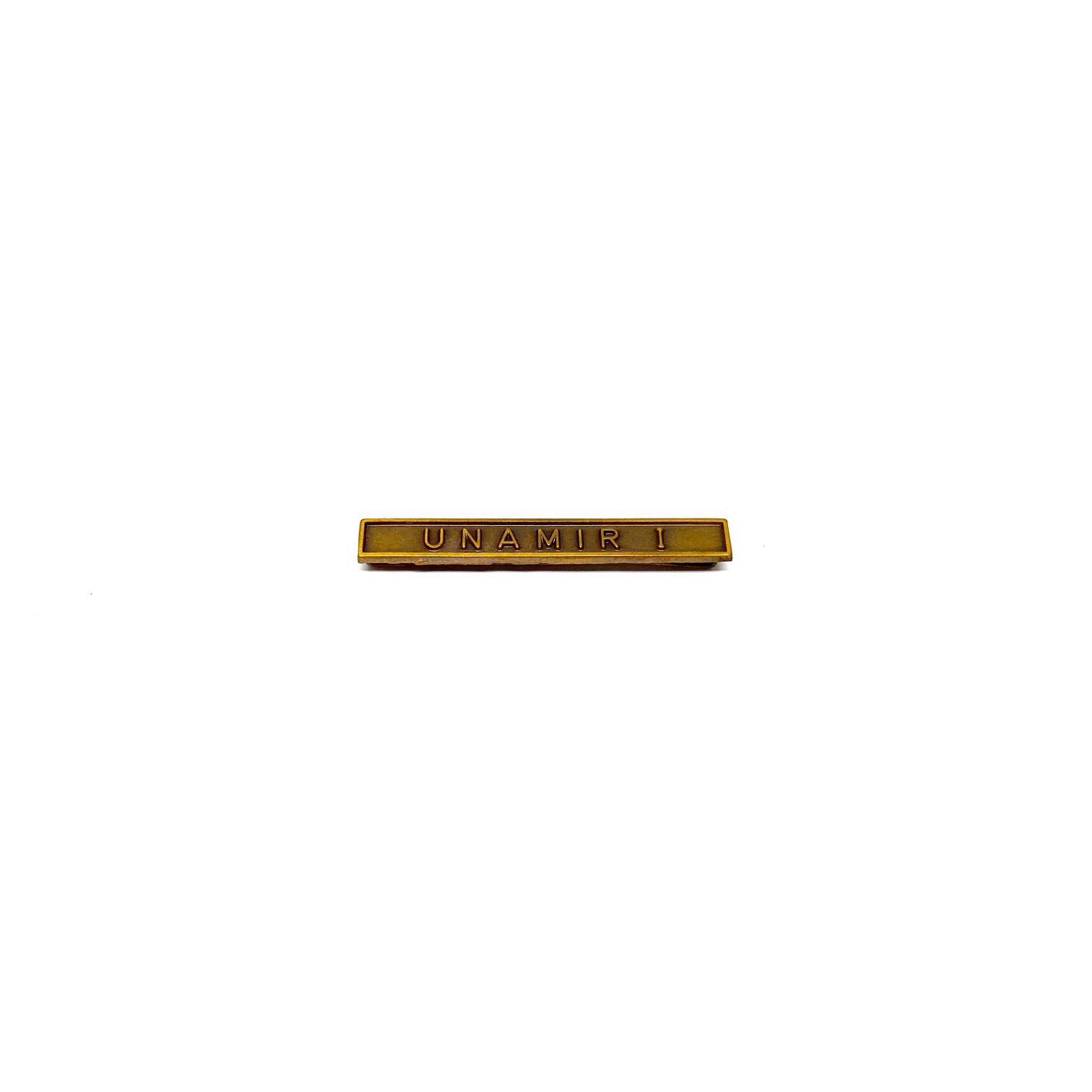 Barrette Unamir I pour décorations militaires