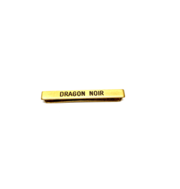 Barrette Dragon Noir
