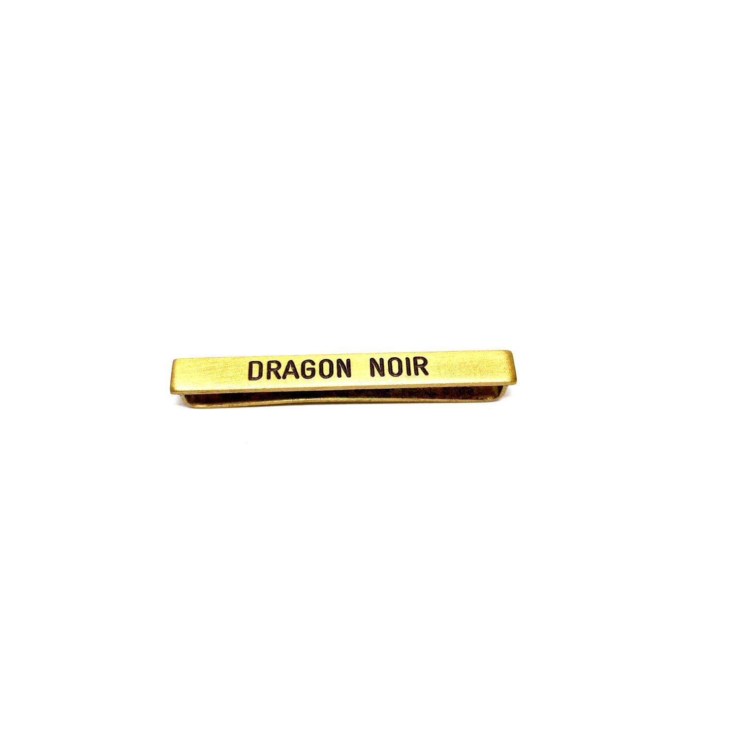 Barrette Dragon Noir pour décorations militaires