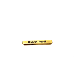 Barrette Dragon Rouge