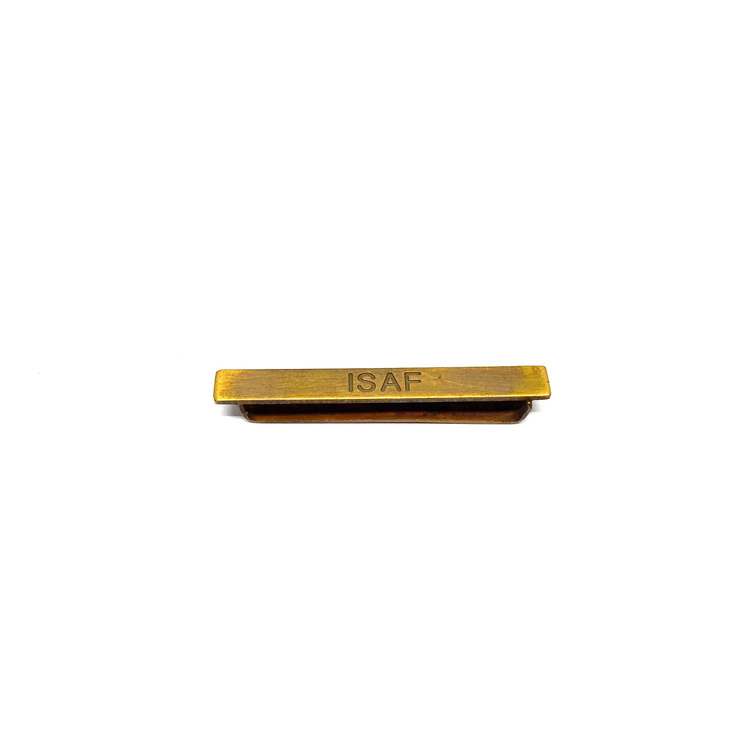 Barrette ISAF pour décorations militaires