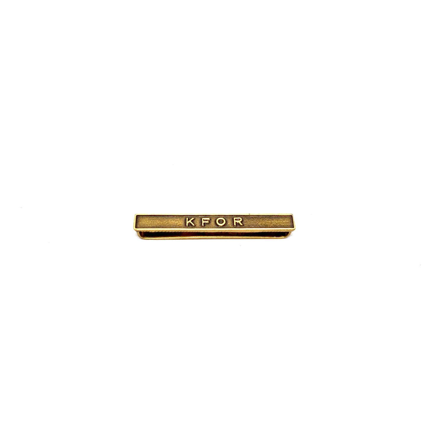 Barrette KFOR pour décorations militaires