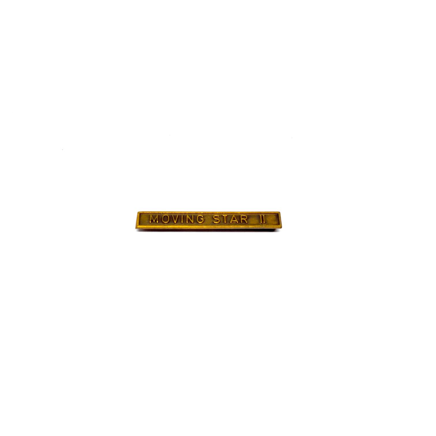 Barrette Moving Star II pour décorations militaires